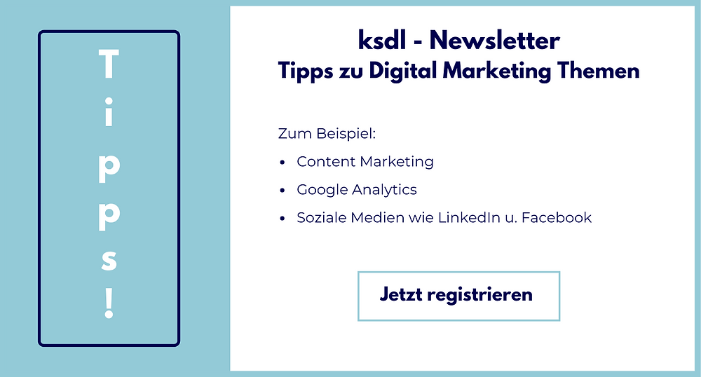 ksdl Newsletter Registrierung