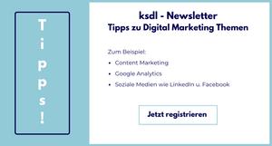 ksdl Newsletter Registrierung