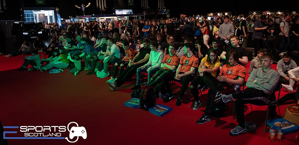esports scotland tournament spectators crowd