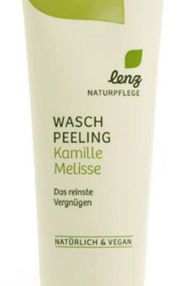 Lenz Waschpeeling Kamille-Melisse, 125 ml