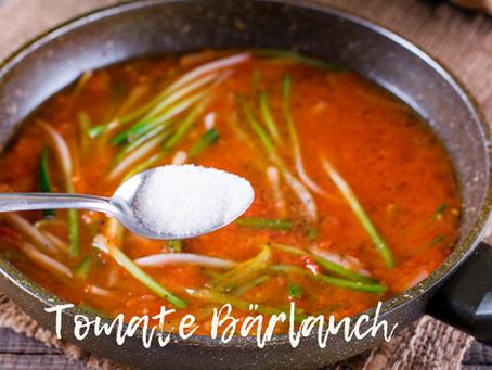 Tomate Bärlauch Suppe