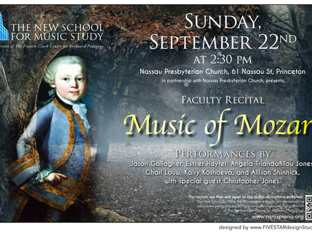 NSMS Faculty Present: Music of Mozart