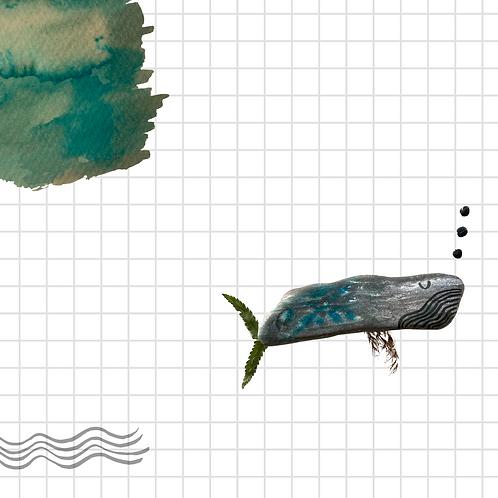 Carte cachalot - qui voulait être Picasso