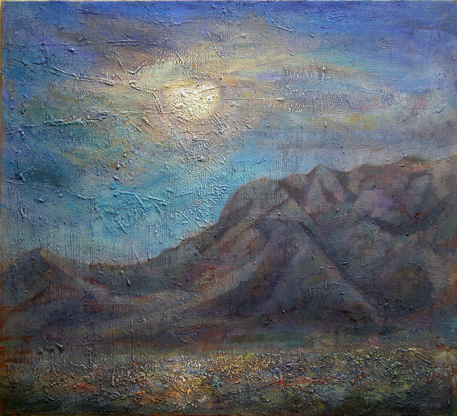 Moonrise New Mexico
