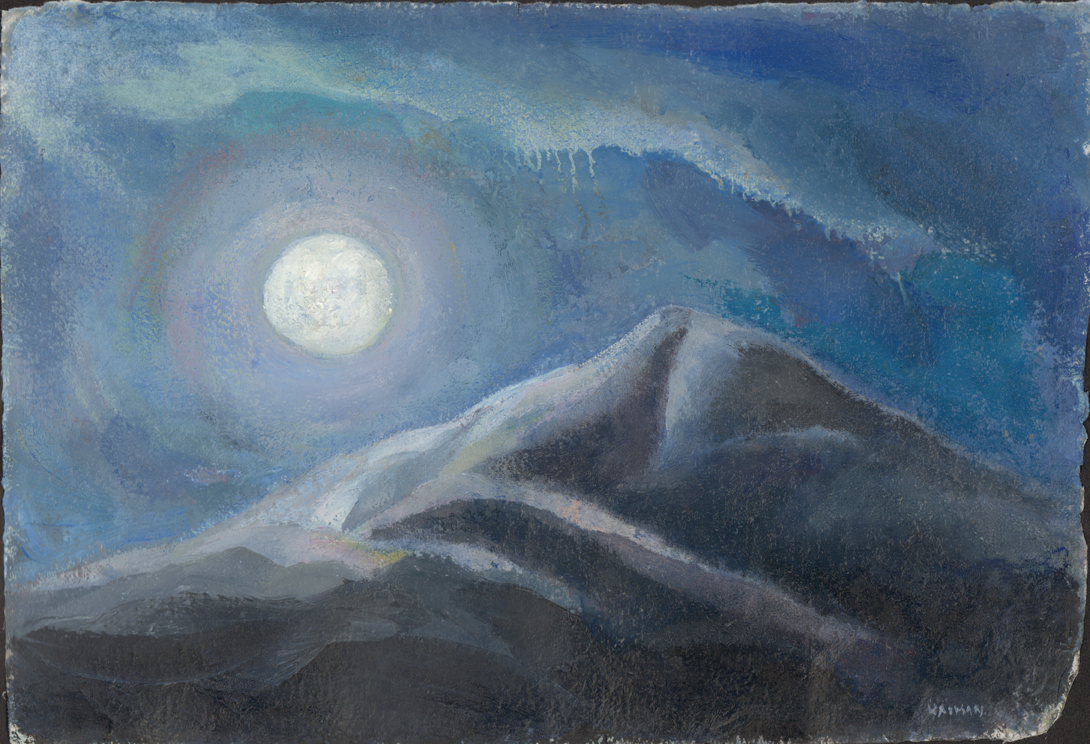 Moonglow on Mountain