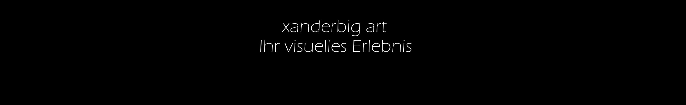 xanderbig art WEBSTARTPAGE