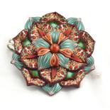 Broche Flor Grande 52€