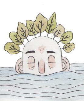 Sleepy Sea Giant