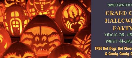 SweetwaterGOP's Grand Ole Halloween Party on October 31st!