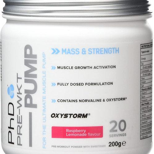PHD Pre-Workout Mass Strength - Raspberry Lemonade