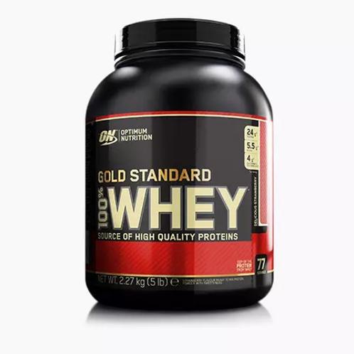 ON, Optimum Nutrition- Gold standard 100% Whey -Cookies& cream