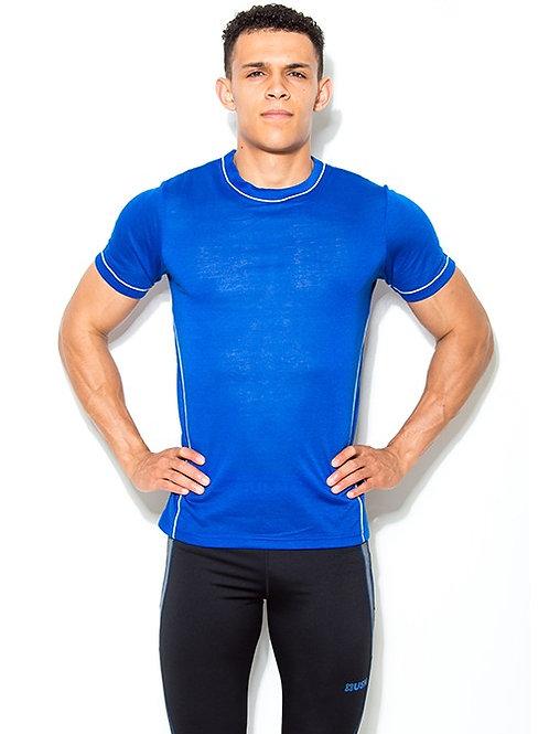 USN MEN'S TECHNICAL T-SHIRT - BLUE