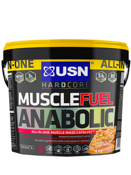 USN Muscle Fuel Anabolic - Caramel Peanut Butter
