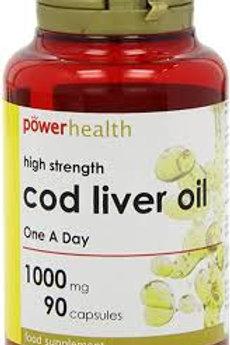 Power Health High strength Cod Liver Oil