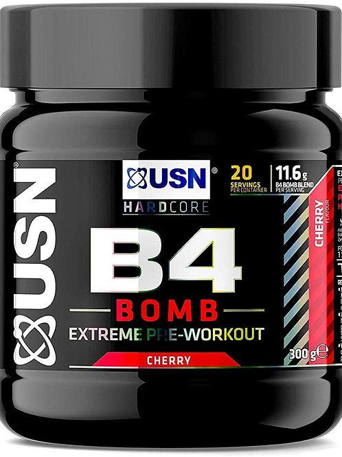 USN B4-Bomb Extreme 300g Cherry Bomb (New Formula), 0.1