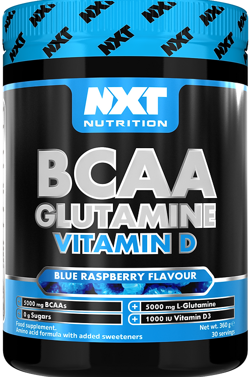 NXT BCAA Vitamin D (Blue Raspberry)
