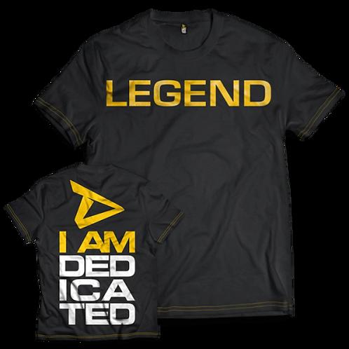 I AM DEDICATED (LEGEND) Tops