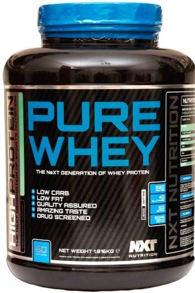 NXT Pure Whey + 25% Extra Fill (2.25kg) - Chocolate Mint