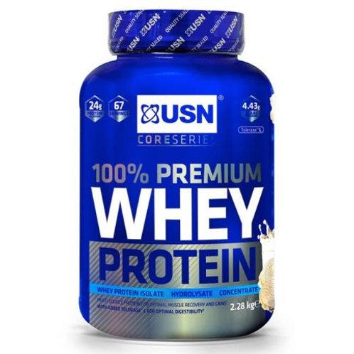 USN 100% Premium Whey Protein 2.28kg - Vanilla