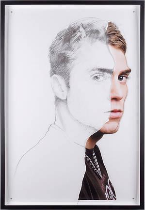 Retrato dibujado 1