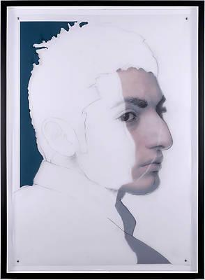 Retrato dibujado 3