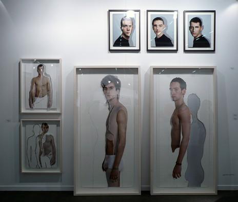 Exposición Galería F. Pradilla. Madrid. España. 2006.