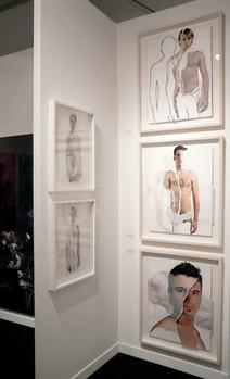 Exposición en la Feria MiArt'08. Milán. 2008.