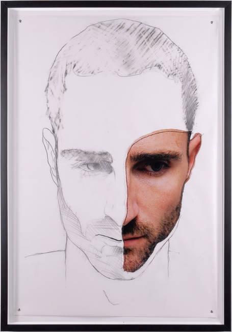 Retrato dibujado 2