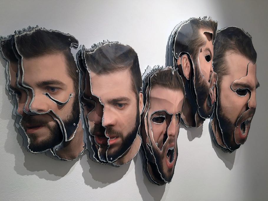 Exposición en la Feria de Arco. Madrid. España. 2015.
