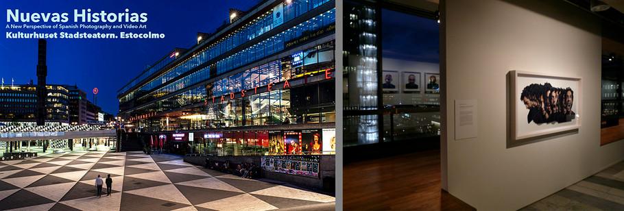 Exposición: Nuevas Historias. Kulturhuset.  Stockholm. Suecia. 2008.