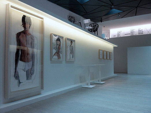 Exposición en el Museo ABC. Madrid. España. 2011.