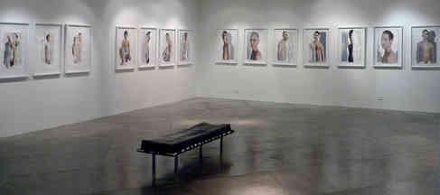 Exposición en la Galería El  Museo.  Bogotá. Colombia. 2007