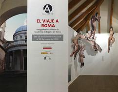 Exposición en Casa de América. Becarios de España en Roma.  Madrid. España. 2020.