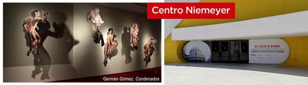 Exposición en el Centro Niemeyer. Avilés. España. 2019.