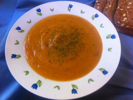 Aging and Orange Soup