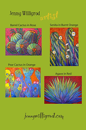 Cacti Note Cards II