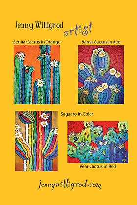 Cacti Note Cards I