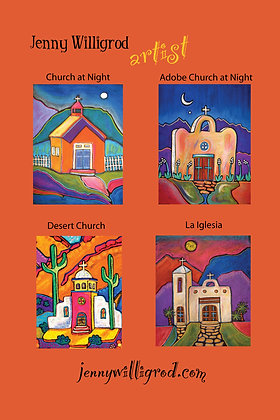 Adobe Church Note Cards
