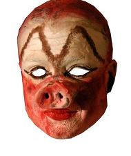 un masque de maquillage