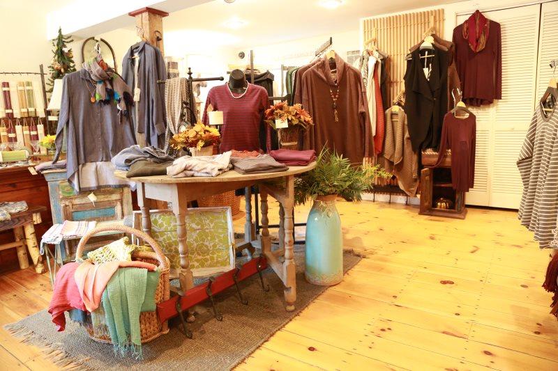 Designer cloths at Pickwell's Barn