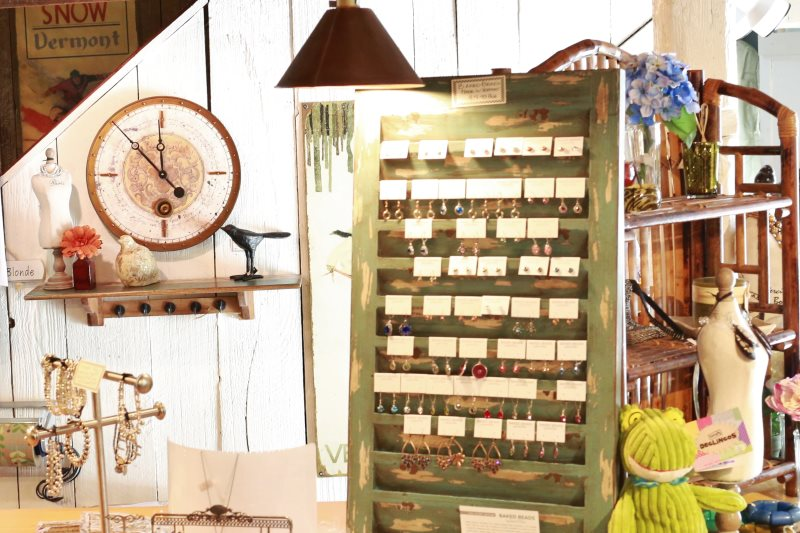 Jewelry at Pickwell's Barn