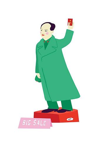 Chairman Mao on Cat Street