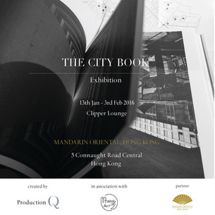 The City Book | Book Launch + Art Exhibition