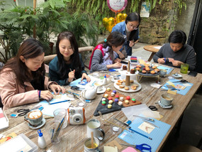 Bridal Shower Party - Papercutting And Collage Workshop