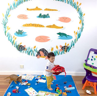 Kids Room - Mural Project