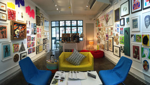 MobArt Pop Up Art Store x Exhibition – small space; Big flair