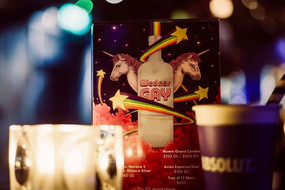 JinJuu x Abosult Vodka - WednesGay Poster
