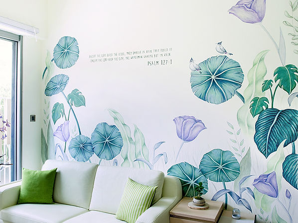 Charlene man, hong kong artist, mural art,creatice street wall,transform your living place with art,hack the wall!,let's draw on wall.