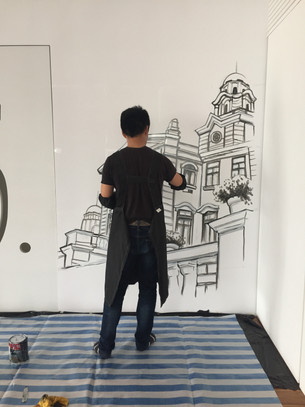 Dinning Room Mural Project