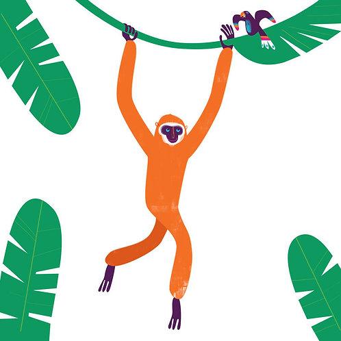 Swinging Gibbon- Chiang Mai